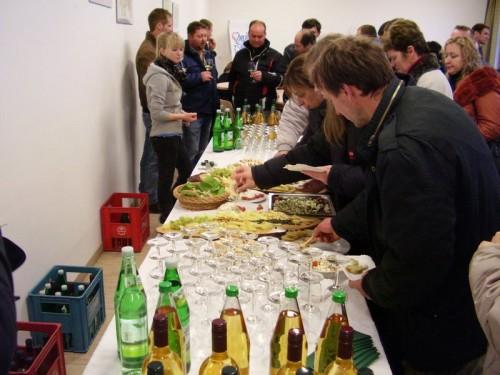 Slika 9. - Degustacija proizvoda obiteljskog gospodarstva Winkelhof